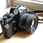 Contax 139 SLR camera