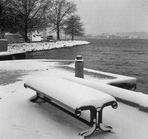 snow on the Potomac