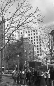 Downtown DC, winter
