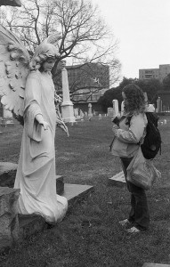 Jen and the angel