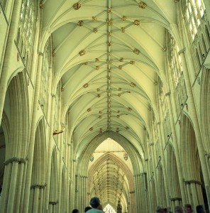 Lincoln nave ceiling