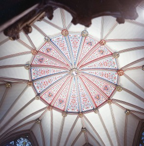 Lincoln chapter ceiling