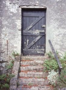 unused doorway